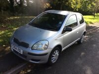 2004 Toyota Yaris 1.0 T2-1 previous owner-March 2018 mot-service history-Fantastic first car