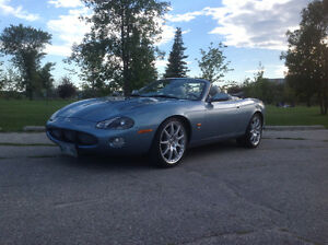 2004 Jaguar XKR Supercharged Convertible - WINNIPEG MB