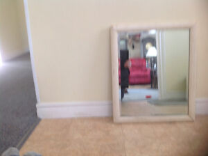 FRAMED BEVELED MIRROR