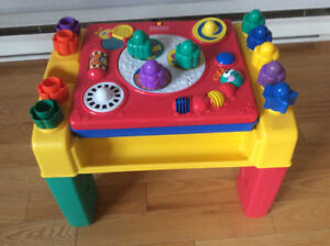 table d activites musicale fisher price