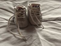 Baby Fila trainers for sale