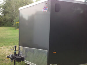 2017 7x16 USCARGO Enclosed Trailer - never used