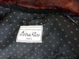 VINTAGE Ladies Coat by ASTRA FURS of Paris.