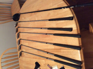 Golf clubs for sale,
