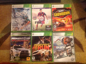 6 Xbox 360 games in mint condition for sale  Edmonton