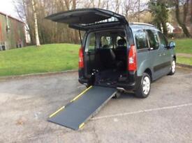Citroen Berlingo 1.6HDi 90hp Multispace XTR disabled access /wheel chair