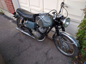 Yamaha YM1 305cc 2 stroke winter project / restoration / cafe