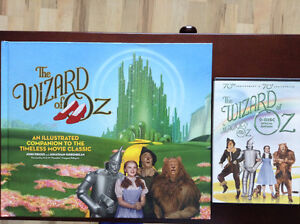 Wizard of Oz book and 70th anniversary dvd set