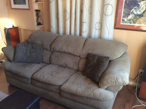 A Couch and matching ottoman
