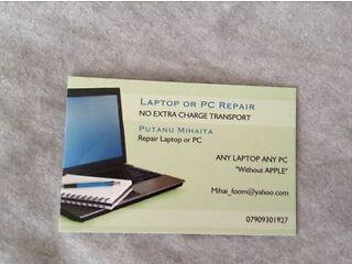 Repair laptop or computer