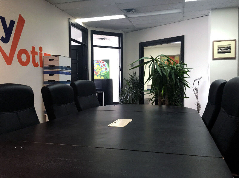 Newly renovated office space with private offices sqft
