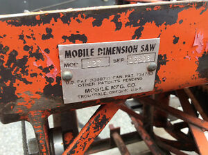 Saw mill  mobile dimension