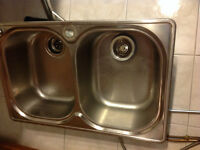 . Franke Double Bowl S.S.Sink