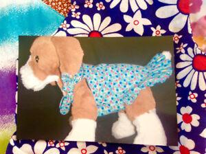 TINY PET DRESSES AND BANDANAS