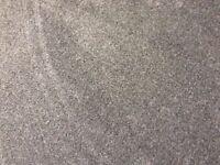 """Granite grey carpet 63"""" W X 260"""" L new"""