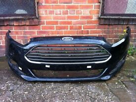 Ford Fiesta 2013 2014 genuine front bumper for sale black