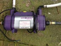 easiboost shower extra pressure pump £15