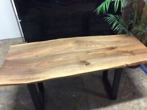 Hand Crafted Black Walnut Dining Table