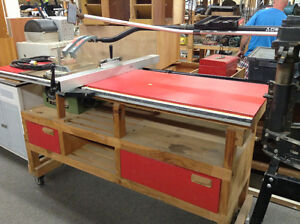 """10"""" Table Saw with Deluxe Workbench and Accessories"""
