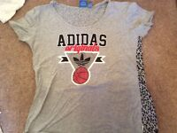 Immaculate ladies adidas t shirt