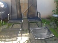 Garden Chairs & Stools