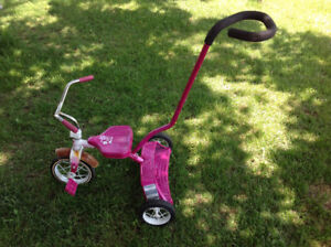 KIDS TRICYCLE with guide - GREAT CONDITION
