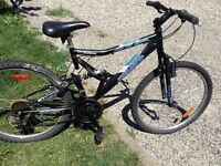 "19"" Full Suspention Mountain Bike 21 Speed"