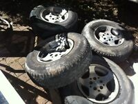 """4 original mags for JEEP 15"""""""