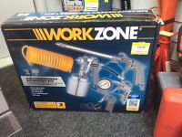 Work zone air compressor