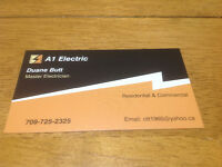 Licensed Electrician For Hire. 30 years Experience.  Best Rates,