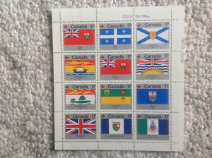 Canadian stamp sheet collection Strathcona County Edmonton Area image 3