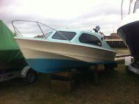 Shetland 535 Fishing Boat & Accessories (NO TRAILER)