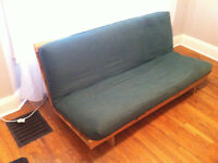 FUTON MUST GO TODAY - ASKING $50 OR BEST OFFER