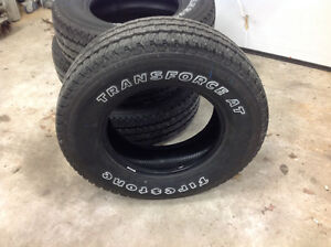 Transforce AT Truck Tires NEW
