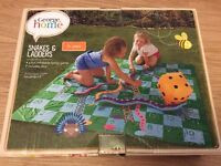 Outdoor inflatable snakes and ladders