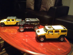 1/18 diecast cars hummer collection