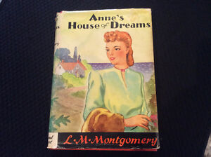 1922 Edition of Anne's House of Dreams by L.M. Montgomery