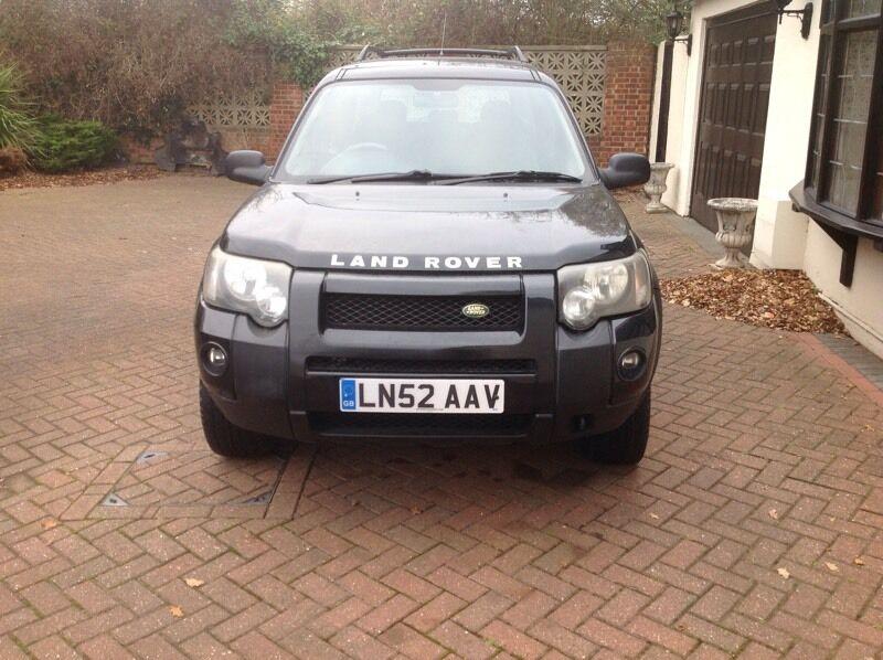 2002 Auto Land Rover freelanders V6 es petrol