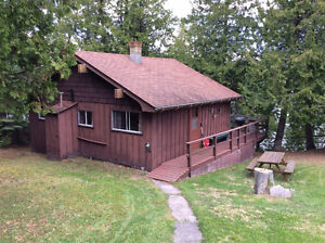 LAKEFRONT SEASONAL GUEST CABIN: FISH & HUNT from JUNE TO OCTOBER