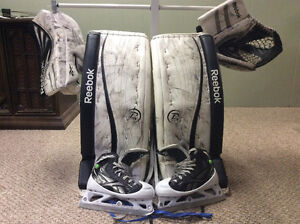 Reebok youth goalie equipment