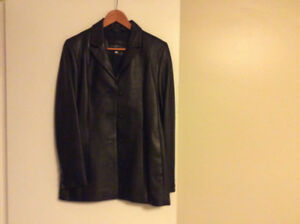 Ladies Leather jacket made in Canada