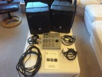 Contact Portable P.A Voice System complete with a pair of Contact speakers