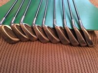 Golden Ram Ladies golf clubs, irons.
