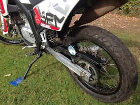 Sach 125 Sfm 125 zx Enduro. On and Off Road.