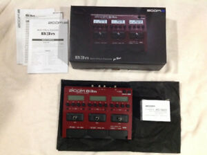 Zoom B3n --- Multi-Effects Processor for BASS