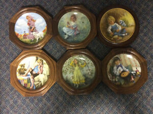 Collectable plates- Nursery rhymes Kitchener / Waterloo Kitchener Area image 1
