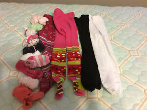 8 complete outfits and rain jacket - girls 2T