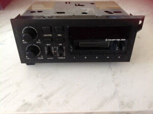 vintage CHRYSLER car radio & cassette in perfect conditions