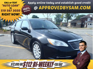 200 TOURING - $112+TAX BI-WEEKLY OAC - APPLY @ APPROVEDBYSAM.COM