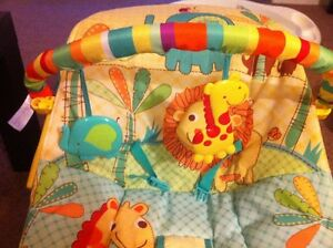 Fisher-Price baby Bouncer with viberator >> LIKE NEW